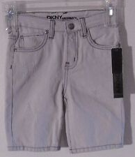 NWT DKNY Greenwich Toddler Boys Distressed Denim Shorts 4T Bleach Wash MSRP$41