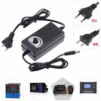 AC to DC Adapter 1-24V Adjustable Volt Power Supply Motor Speed Controller Tool