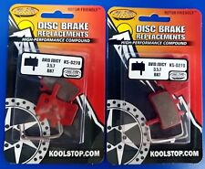 2X Kool Stop - KS-D296 - Avid / SRAM Elixir Disc Brake Pads - Organic Compound