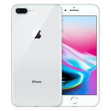 Apple iPhone 8 Plus - 64GB - Silver (Unlocked) A1897 (GSM)
