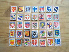 FRANCE,35 DIFFERENT COATS OF ARMS  ISSUES.EXCELLENT.