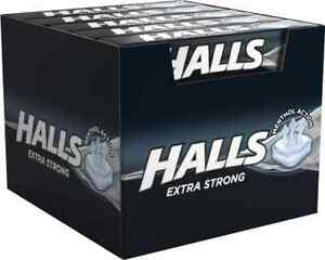 Halls Extra Strong Mint Vapour Action 20 x 33.5g Free Uk Delivery