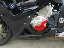 BMW S1000RR Sturzpads CNC Alu Motorschutz Engine Slider Abdeckung Cover Pads 4 R