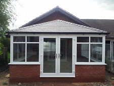 4m x 3m Solid Tiled Replacement Edwardian Conservatory Roof Supplied & Fitted