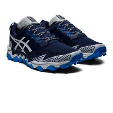 Asics Mens Gel-FujiTrabuco 8 Trail Running Shoes Trainers Sneakers - Navy Blue