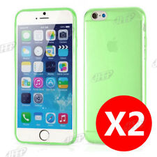Buy 1 get 1 Free, Ultra Slim Green iPhone 6 / 6S Gel Case Cover for Apple AU