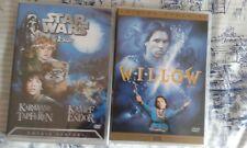 LOS EWOKS ( IMPORTADA CON ESPAÑOL Y NUEVA ) STAR WARS + WILLOW !!!