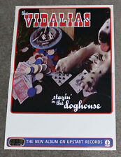 The Vidalias - Stayin' In the Doghouse - 1997 promotional poster - country rock