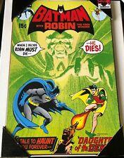 Batman #232 (1st Ra's Al Ghul) Wooden Sign Dc Silver Buffalo Llc Nrfp!
