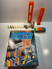 Domino Rally Motorized Domino Dealer Vintage 1992 Complete Pressman Toy TESTED!