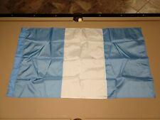 New listing Guatemala Flag 3x5 ft Perma-Nyl - Used