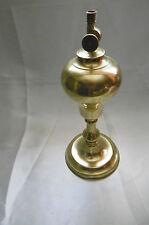 lampe a huile en bronze vintage
