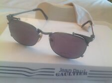 Hot Rare Vintage Jean Paul Gaultier 56-2175 Smoke Green/Green-Grey Sunglass Nos