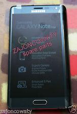 Véritable samsung lcd screen display pour sm-n915f Galaxy Note 4 Edge Noir