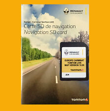 2020 CARMINAT LIVE Renault TOMTOM SD Card EUROPE Map UK GB IRELAND
