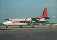 Northwest Orient Airlink Mesaba Airlines Fokker F27 MK500 Skyliner Cards 067
