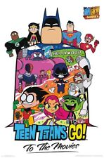 TEEN TITANS - GO TO THE MOVIES - CHARACTER COLLAGE POSTER - 22x34 - 16538