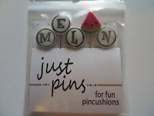 10% Off Just Another Button Company - Melon Pins - jp187