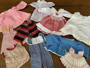 Vintage Doll Clothes Lot 16-20 Inch Doll Great Estate Find Lot 4 (31)