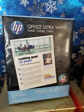 HP Office Ultra White Paper, 8.5 x 11, Letter 500 sheets
