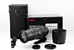 【MINT in Case】SIGMA APO 150-500mm F5-6.3 DG OS HSM LENS for sigma SA Japan #416