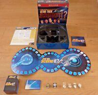 Star Trek Scene It Deluxe DVD Board Game Complete