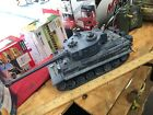 VINTAGE RC 27 MHz M1A2 Tiger Tank LCD Lights And Sound Rare