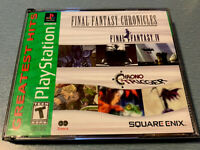 Final Fantasy Chronicles (PlayStation 1/PSX / PS1) Clean And Complete