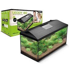 Complete Fish Tank Set Up Heater Filter Light Fresh Tropical Fish 105L Aquarium