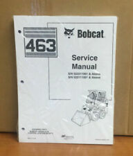 Bobcat 463 Skid Steer Service Manual Shop Repair Book Part # 6901812