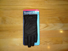 New Womens Isotoner Winter Gloves Smartouch Driving Touch Screen Black S/M