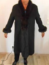 EDEL LUXUS Escada Couture PELZ Mantel PIACENZA CASHMERE 42/44/46 FUR NP5280 COAT