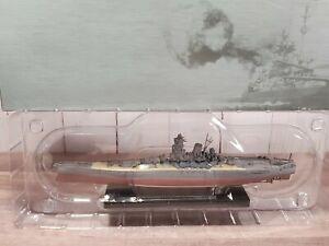 Atlas Editions IJN Yamato Warships Of WWII Japanese Battleship 1:1250 Model Boat