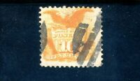 USAstamps Used FVF US 1869 Eagle & Shield Pictorial With Fancy Cancel Scott 116