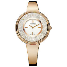 Swarovski 5269250 Crystalline Pure Watch RG Case, Swiss Made RRP $599