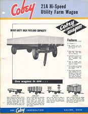 Farm Brochure - Cobey - 21A - Hi-Speed Utility Wagon (F4939)