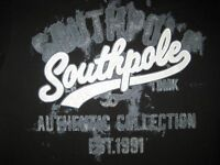 South Pole T-shirt. M,L,XL,2XL. NWT. 100% Cotton. Embellished.NY City series