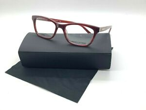 Banana Republic Eyeglasses CELINE DD8 BURGUNDY WOOD 51-17-135MM ACETATE