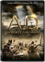 A.D.: The Bible Continues (4 Disc) DVD NEW