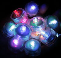 Multi-Color Changing LED very bright tealights, 10 - Candles Battery operated
