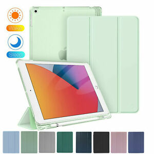 Clear Back Case For iPad Pro 12.9 11 10.2'' Air mini Slim Shell Silicone Cover