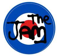 THE JAM VINYL STICKER POP PUNK ROCK MOD REVIVAL TARGET SCOOTER TWO TONE LONDON