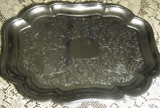 Rectangular Serving Tray Metal Chrome Plated Shelton Ware