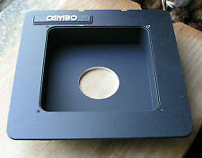 Cambo SC Monorail recessed lens board for copal 1 41.7mm hole 5x4 10x8 29mm deep