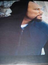 Bryan Michael Cox Promo Poster Ad Great Side Profile Pic