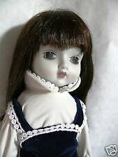 Porcelain Head, Hands, Chest and Feet 16 inch tall Doll