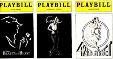 BROADWAY PLAYBILL COLLECTION, Merlin, 42nd Street, Rink, Grease, LOT OF 13