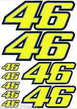 Kit Adesivi replica Valentino Rossi The doctor VR46 46 Adesivi auto moto Sticker