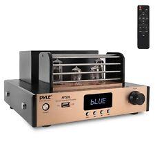 Pyle 1000W Home Audio Desktop Stereo Vacuum Hi-Fi Power Amplifier Receiver