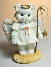 Calico Kittens By Priscilla Hillman - A Purr-Fect Angel From Above - Nativity